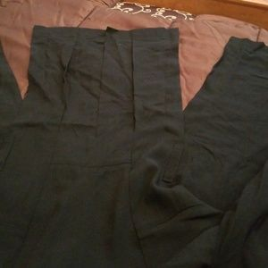 ann demeulemeester long black jacket